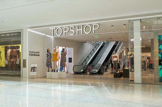Topshop famous boutique.