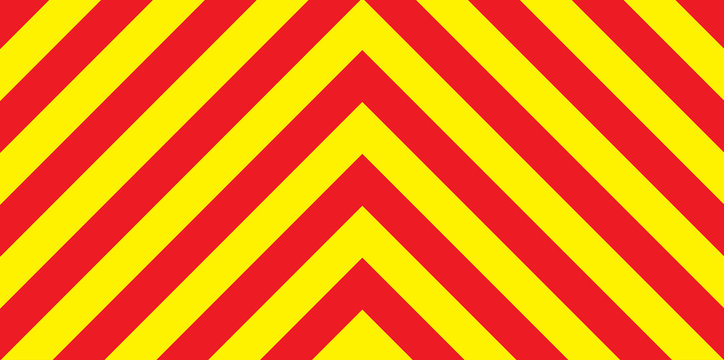 Red And Yellow Chevron Background