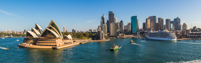 Photo sur Plexiglas Sydney Sydney Skyline Panorama 1