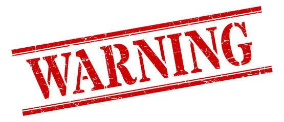 warning stamp. warning square grunge sign. warning