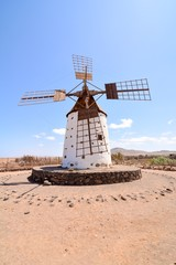 Classic Vintage Windmill Building , digital image picture