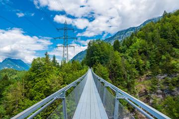 Suspension bridge Leissingen