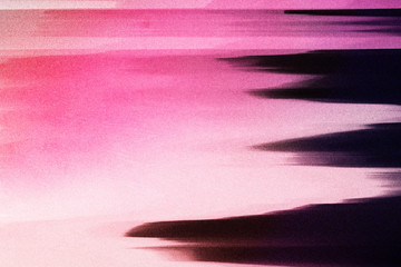 Photo sur Plexiglas Rose banbon Neon Glitch texture
