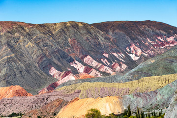 Purmamarca, in the Andes of Argentina