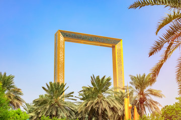 Printed roller blinds Dubai Dubai Frame is an architectural landmark located in Zabeel Park in the city of Dubai in the UAE. The largest frame in the world