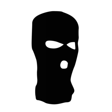 balaclava clothing realistic vector illustration isolated