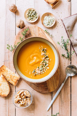 Delicious vegan soup