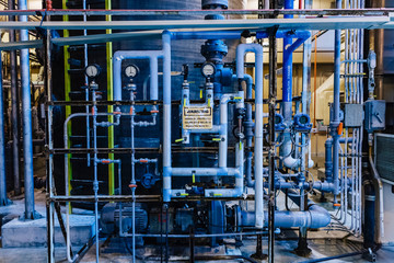 Pipe Network at Industrial Facility