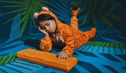 Jungle kid / Tiger kid