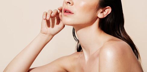 Woman skin detail nude