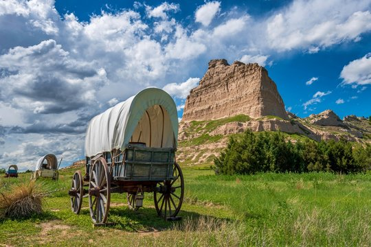 Out on the Oregon trail