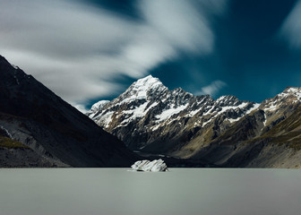 Incredible mountains in New Zealand