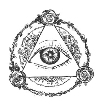 Third eye in circles and triangles