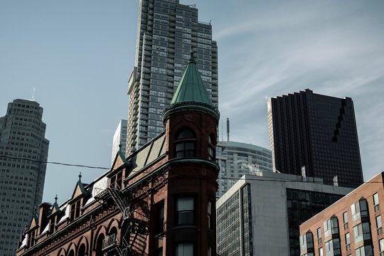 The Gooderham building in Toronto
