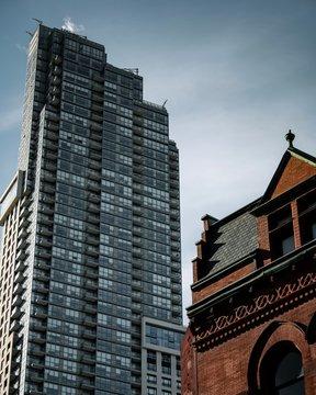 Skyscrapers in Toronto