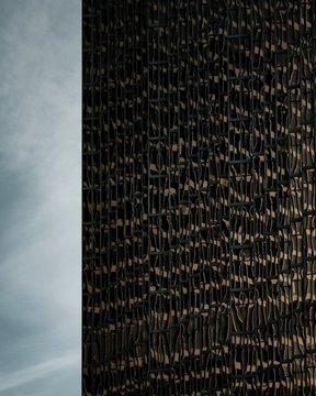 The facade of a skyscraper in Toronto