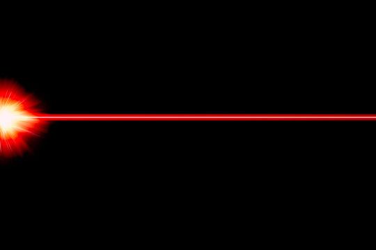 Laser light red fire cross for background illustration for graphic design.