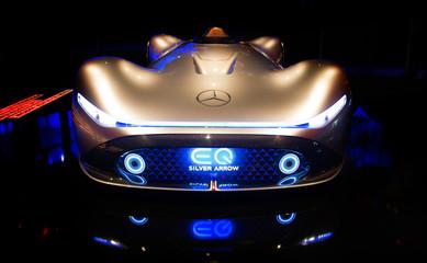 Mercedes Benz sport car. sports car
