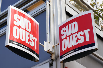 Sud Ouest French newspaper third largest regional daily paper circulation around 300,000 copies