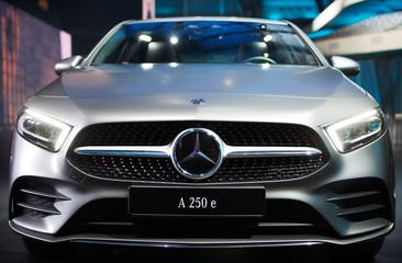 Mercedes Benz Vision A 250 e  luxury  concept car