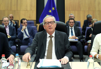Meeting of the College of EU Commissioners in Brussels