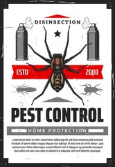 Disensection and pest control, fumigation