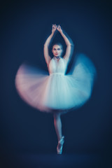 dancing classical ballet