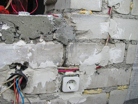 Construction, Installation of Electricians. Wiring