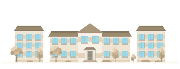 Traditional houses set