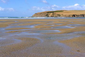Surat Bay Beach & Estuary, Catlins coast, New Zealand