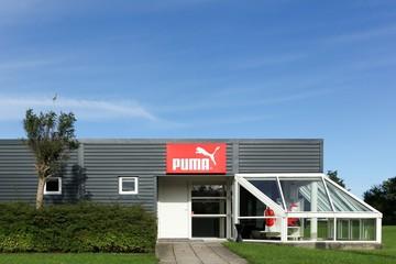 Puma office building on September 6, 2015 in Skanderborg, Denmark