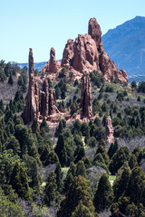 Garden of the Gods landscape, Colorado, USA