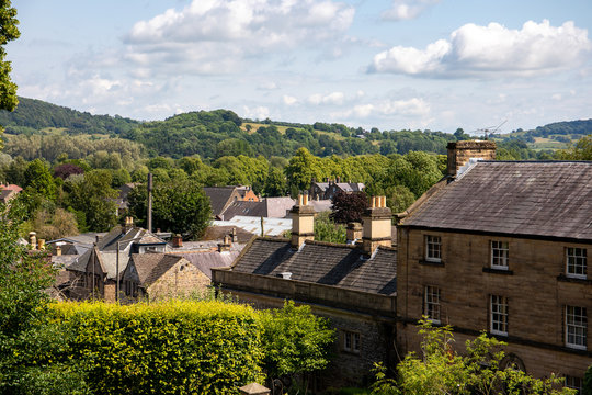 A lovely summer day in Bakewell, the Peak District, Derbyshire, England