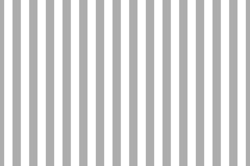Vector seamless vertical stripes pattern, gray and white. Simple background