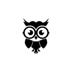 Wall Murals Owls cartoon cartoon owl with sunglasses - inspiration owl Vector