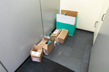 Stolen delivery packages