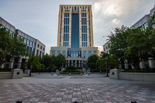 Orange county Florida court house