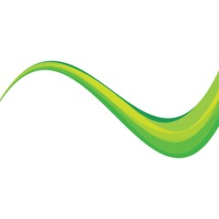 Dynamic texture green background vector illustration