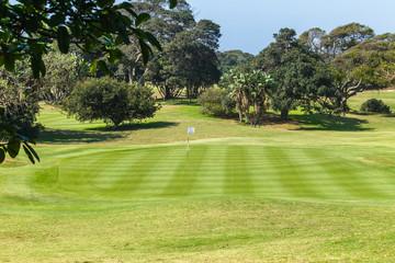 Golf Course Hole Green Scenic Coastal Landscape
