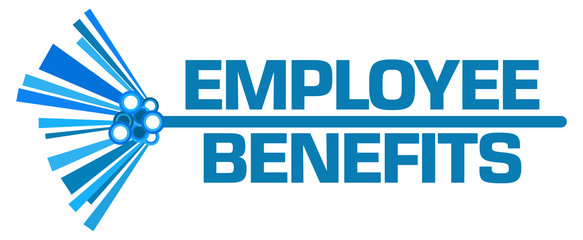 Employee Benefits Blue Graphical Bar