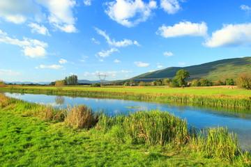 River Gacka in Lika region, Croatia Fotoväggar