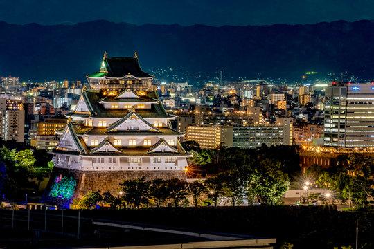 大阪城/大阪/osaka castle/Osaka Night/ 大阪夜景/観光