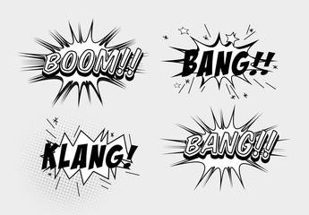 Retro Cartoon Text Effect Mockup