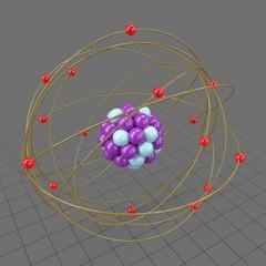 Stylized atom