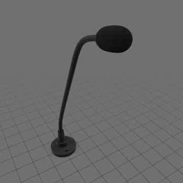 Podium microphone