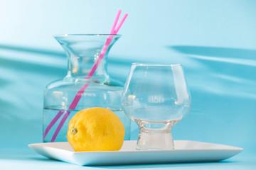 prepared to make lemonade