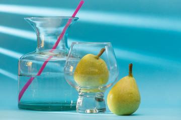 representation of a pear juice