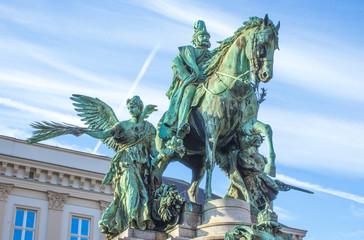 Foto auf Leinwand Nordeuropa Kaiser Wilhelm monument (Kaiser Wilhelm Denkmal) North Rhine-Westphalia Germany