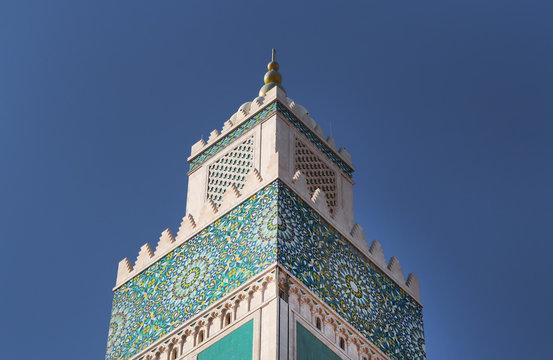 Minarete de la Mezquita Hassan II - Casablanca