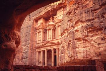 Al Khazneh or The Treasury, Petra, Jordan